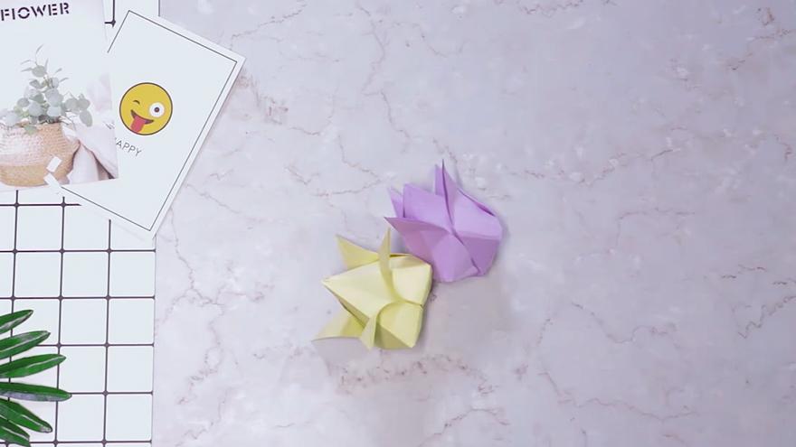 郁金香折纸