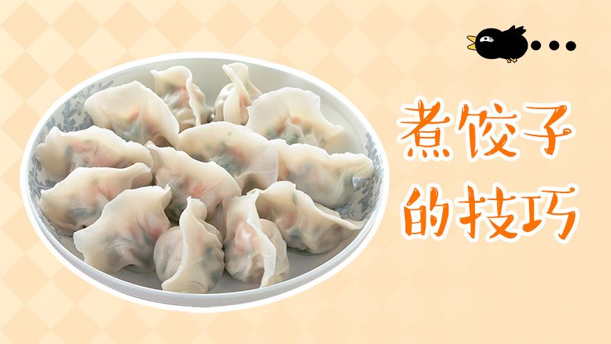 煮饺子的技巧