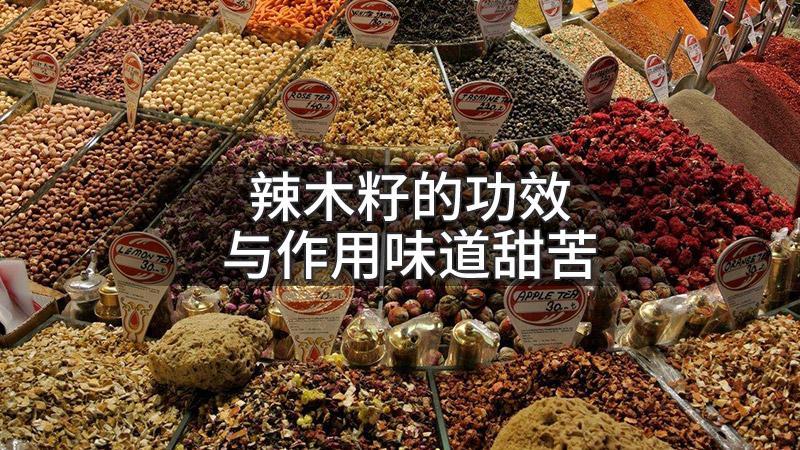 辣木籽的功效与作用味道甜苦