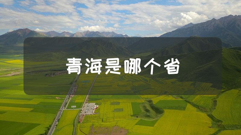 青海是哪个省